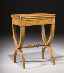TABLE A JEU VERS 1840
