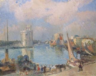 Entrée du Port à La Rochelle