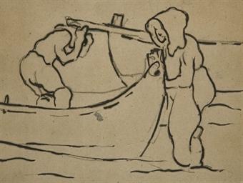 Pêcheurs à Arcachon
