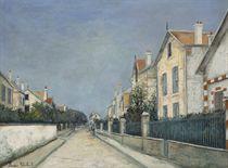 La rue de la République à Sannois