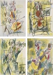 Les Musiciens (1. et 2. Le Vio