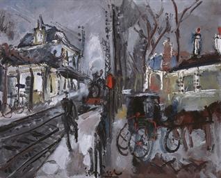 La gare de Chatou-Croissy