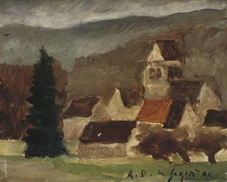 Vue du village de Couilly