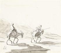 Don Quixote et Sancho Pansa