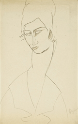 Portrait de Jeanne Hébuterne