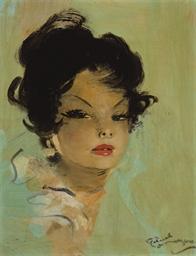 Portrait de femme (Carita)