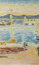 Les filets dans le port de Saint-Tropez
