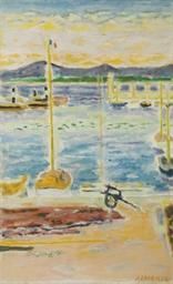 Les filets dans le port de Sai