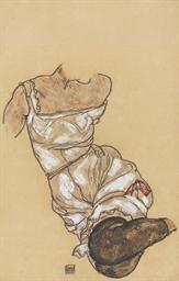 Weiblicher Torso in Unterwäsch