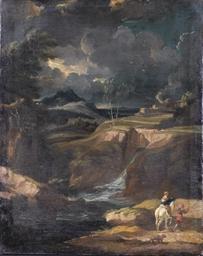 Paesaggio con pastori