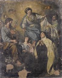 La Vergine con i santi Giusepp