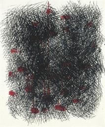 Abstração (Vermelho e negro)