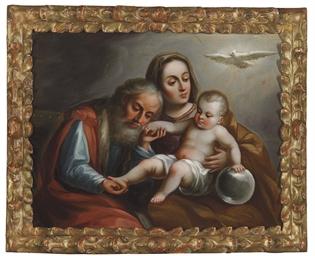 Sagrada Familia con el Espírit