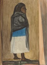 Mujer con rebozo