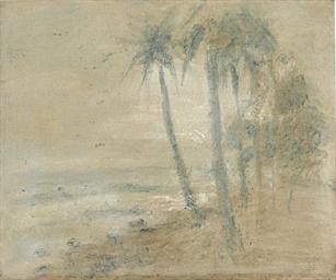 Cocoteros en la playa, Macuto