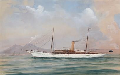 The steam yacht Alberta