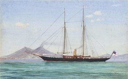 A Royal Yacht Squadron steam y