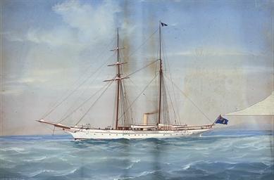 The steam yacht Miranda