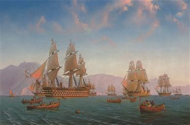 The British Mediterranean Flee
