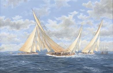 J-class regatta, 1932