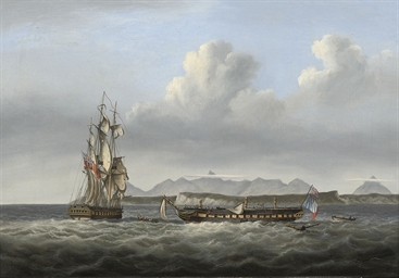 H.M.S. San Fiorenzo and the de