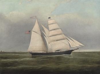The American brigantine M Loui