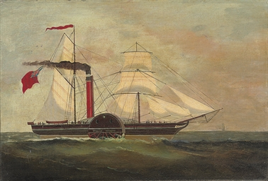 The pioneering paddle steamer