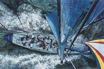 Surging through the seas
