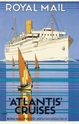 ROYAL MAIL, 'ATLANTIS' CRUISES