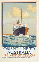 ORIENT LINE TO AUSTRALIA
