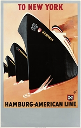 TO NEW YORK, HAMBURG-AMERICAN