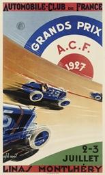 GRANDS PRIX A.C.F., 1927