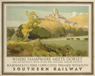 WHERE HAMPSHIRE MEETS DORSET,