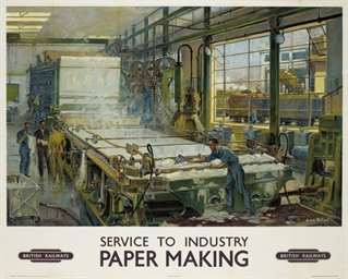 SERVICE TO INDUSTRY, PAPER MAK