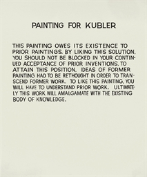 Painting for Kubler