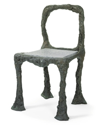 Betty Freeman Bronze Chair