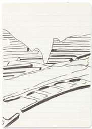 Sheet from Sketchbook (railtra