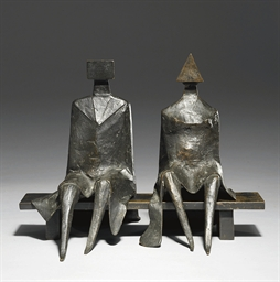 Maquette II Sitting Couple on