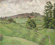 Rye from Cadborough, Grey Morning