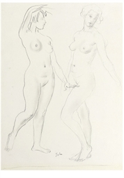 Nude study of Susy Davidson: A