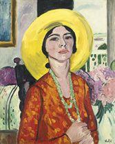 The Yellow Hat (Mrs Geoffrey Garrat)
