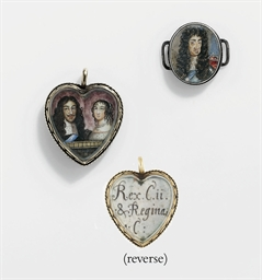 A HEART-SHAPED CHARLES II MEMO