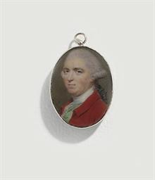 A gentleman, in scarlet coat,