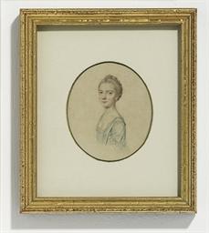 A preparatory sketch of Mrs Mu