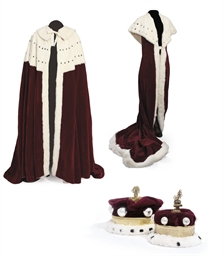 THE CORONATION ROBES OF BARON