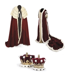THE CORONATION ROBES OF THE EA