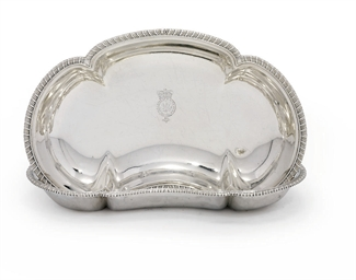 A PAIR OF GEORGE III SILVER DI