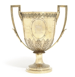 A VICTORIAN SILVER-GILT CUP