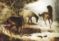 Keluarga Kuda (Family of horses)