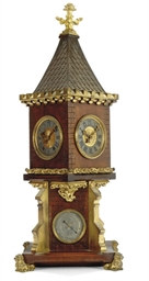An ormolu-mounted carved walnu
